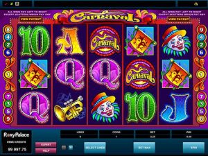 Automat do gier Carnaval