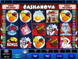 Automat do gier Cashanova