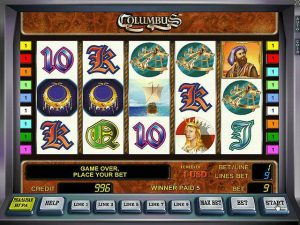 Automat do gier Columbus