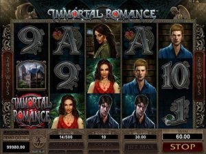 Automat do gier Immortal Romance