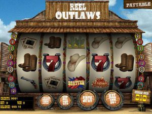 Automat do gier Reel Outlaws
