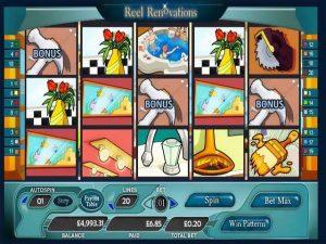 Automat do gier Reel Renovations