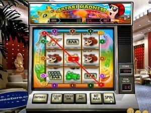 Automat do gier Safari Madness