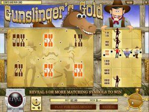 Automat do gier Scratch Card: Gunslingers Gold