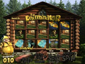 Automat do gier The Exterminator