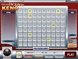 Automat do gier Vegas Jackpot Keno