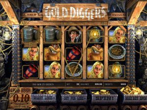 Automat do gier Gold DIggers
